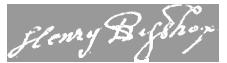 Bishop, Henry copy